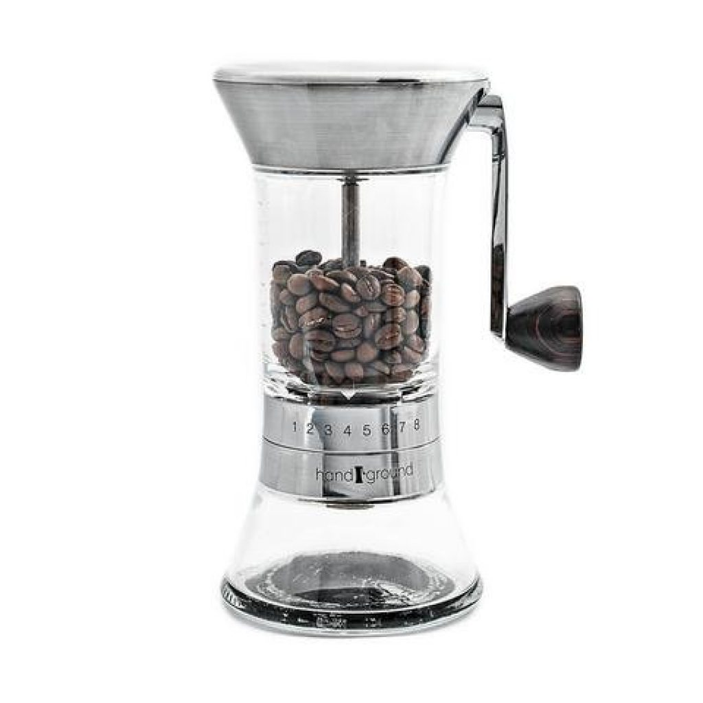 Javapresse manual coffee grinder french press