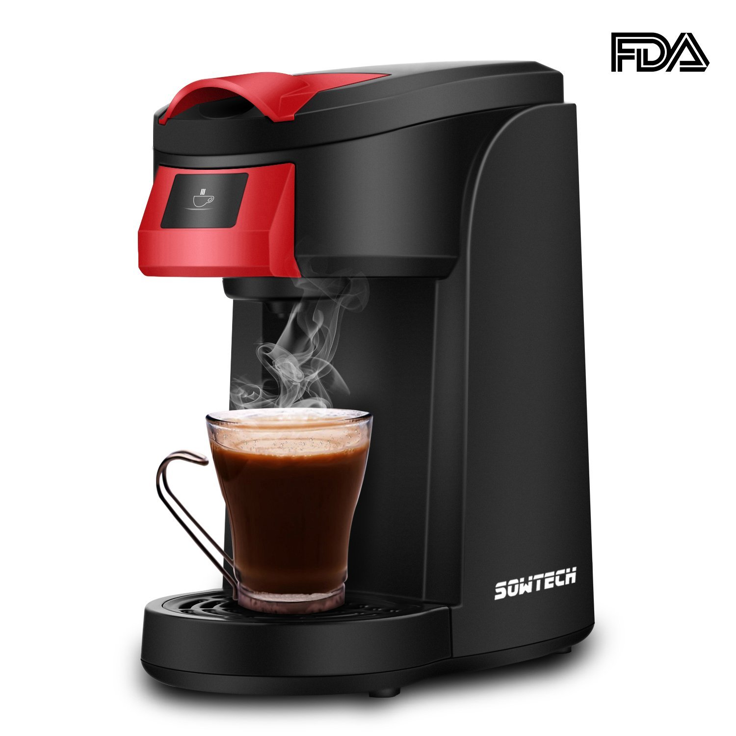 Single Serve Coffee Maker SOWTECH One Touch Operation Coffee Machine