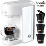 homia Coffee Maker Machine Electric Single Serve Brewer