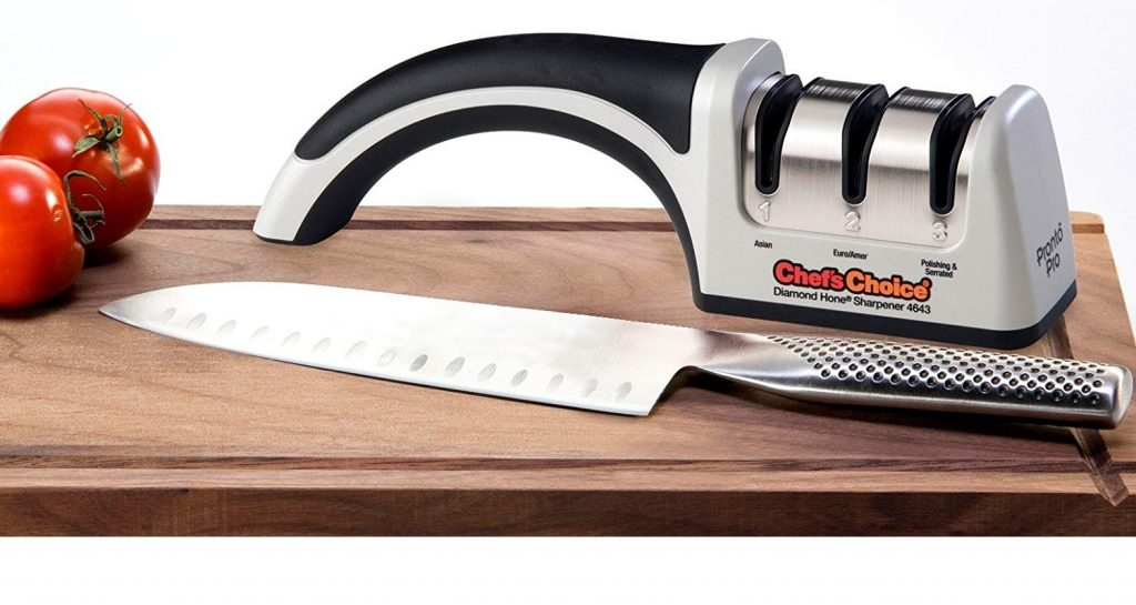 Chef'sChoice 4643 ProntoPro Diamond Hone Manual Knife Sharpener