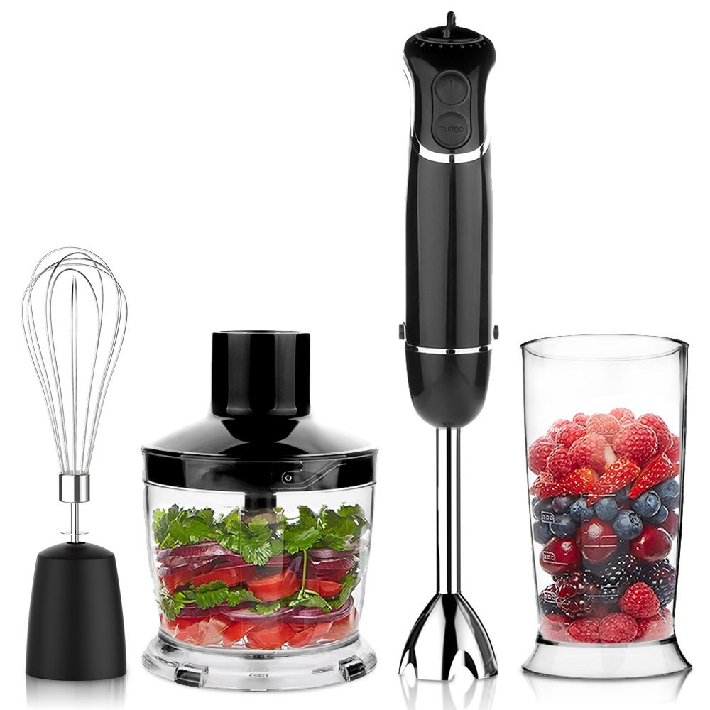 OXA Smart Powerful 4-in-1 Immersion Hand Blender